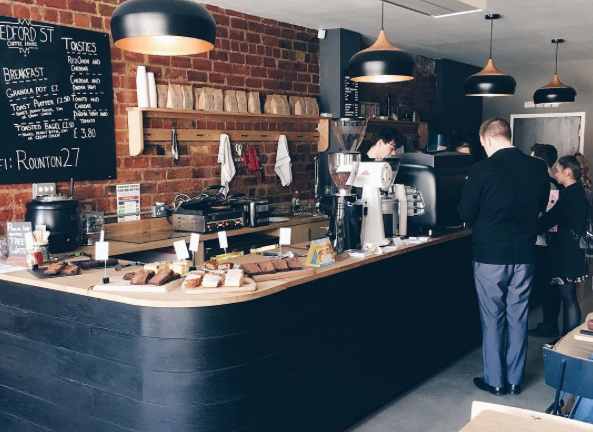 Bedford Street Coffee House, Rounton Coffee Roasters, Middlesbrough