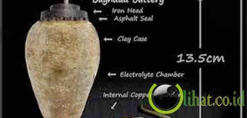 Penemuan bateri dari Baghdad, Iraq