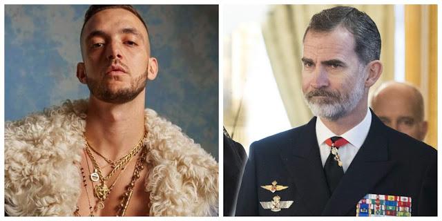 C.Tangana insulta al rey Felipe