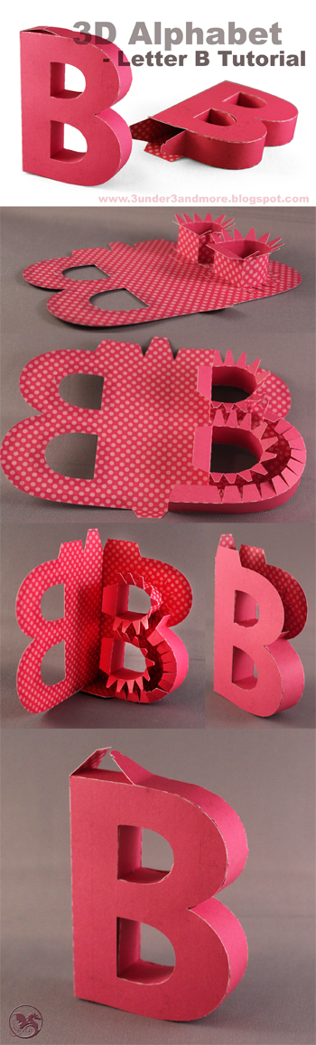 Tutorial+B+pin+label2  D Letter B Template on cut out, printable box,