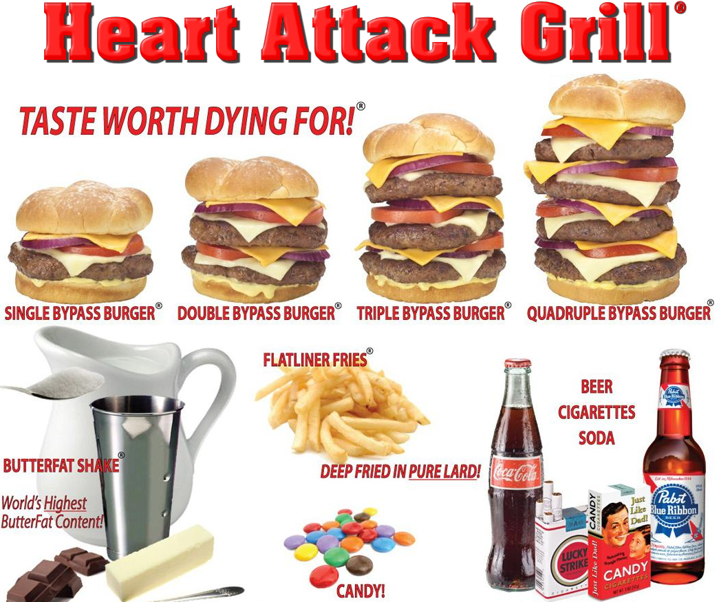 Senseless Ramblings of the Mindless: Heart Attack Grill