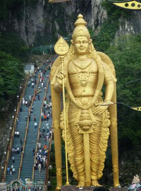 Thaipusam in Malaysia in 2019