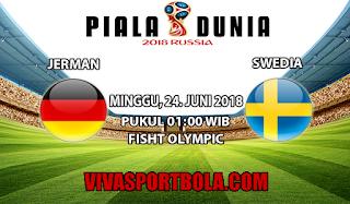 Prediksi Bola Jerman vs Swedia 24 Juni 2018