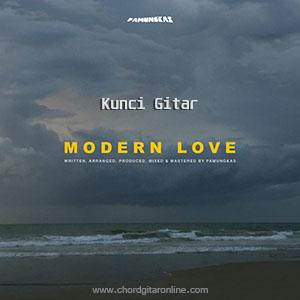 Chord Kunci Gitar Pamungkas Modern Love