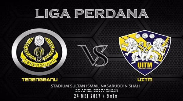 Live Streaming Terengganu vs UiTM FC 24.5.2017 Liga Perdana