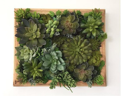 Artificial Succulent Vertical Wall Garden
