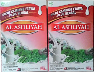 Jual Agen Distributor Susu Kambing Etawa Plus Herbal AL ASHLIYAH