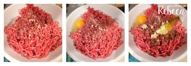 Receta de sopa de galets rellenos de carne: preparar el relleno