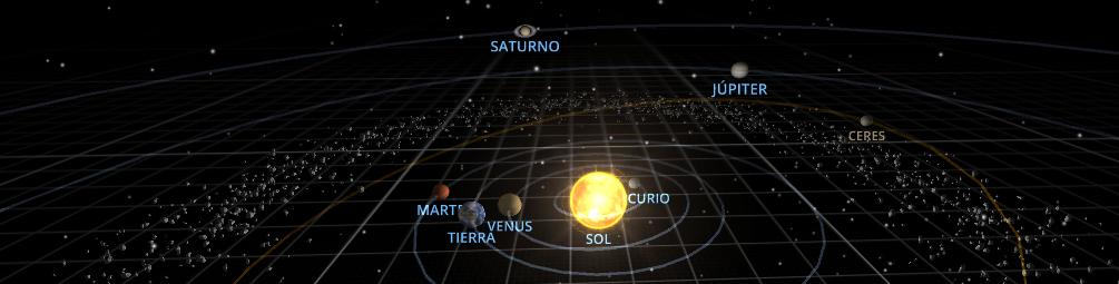 software para ver el Sistema solar