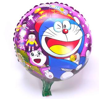 Gambar Balon Karakter Doraemon Mainan Anak