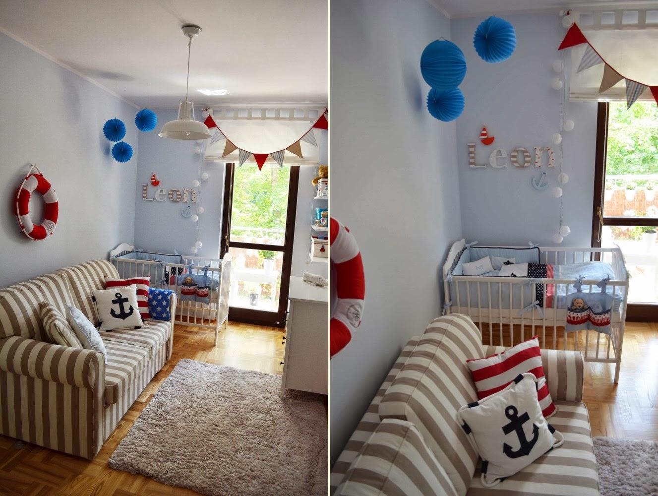 dekorator amator: Marynarski pokój naszego maluszka.