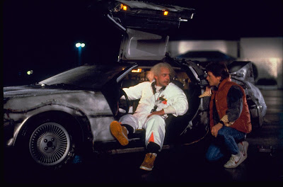 Image of Michael J. Fox as Marty McFly in Back to the Future movie