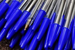 foto penne bic blu