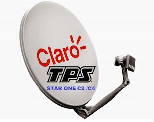 TPS ATUALIZADAS SATÉLITE STAR ONE C2/C4 70W KU CLARO TV - 30/11/2016