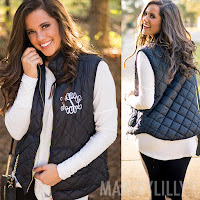 puffy black vest outfit
