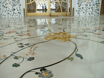 India Style Marble Floor Tile