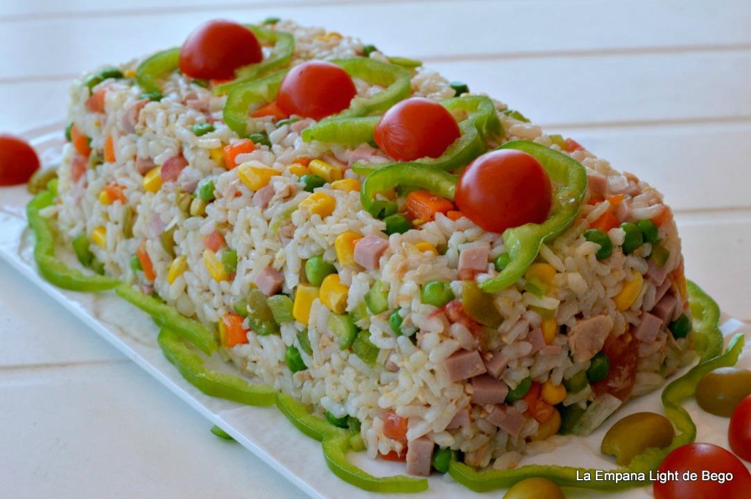 La empana light de bego pastel frio de arroz ensalada - Ensalada de arroz light ...