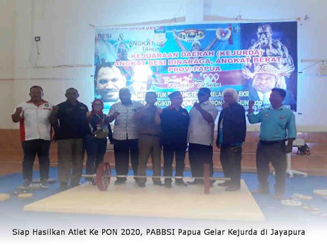 Siap Hasilkan Atlet Ke PON 2020, PABBSI Papua Gelar Kejurda di Jayapura