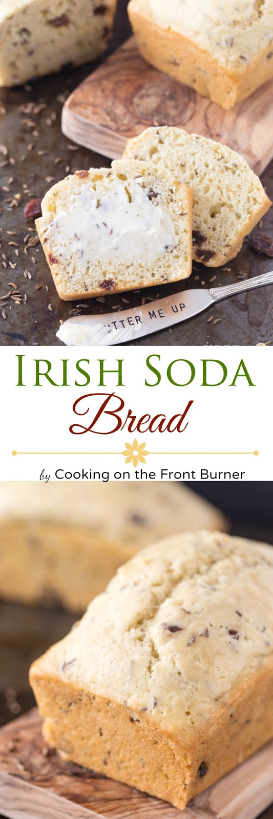 Irish Soda Bread | Cooking on the Front Burner