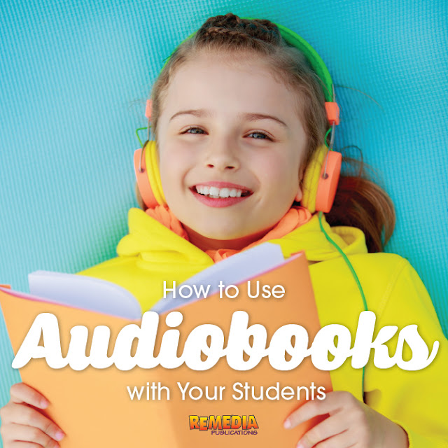 Implement audiobooks in your classroom with the below tips and you'll see your students' fluency, comprehension, language, and listening skills improve. | Remedia Publications