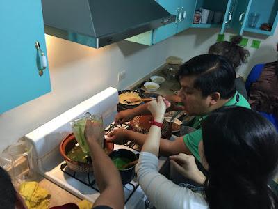 Gabriela Ruiz y Ramón Torres compartieron el conocimiento del verde tradicional. Eso sirvió para construir una técnica denominada Verde Tabasqueño.