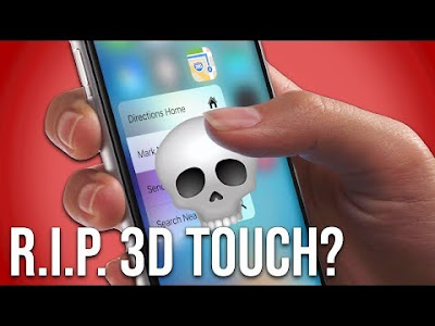 Is Apple killing 3D Touch on the iPhone?