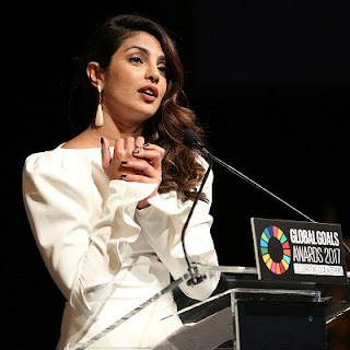 Priyanka Chopra at Global Goals Awards by United Nations
