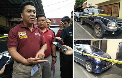 Dalam Seminggu Polda Lampung Sita Delapan Mobil Yang Diduga Hasil Kejahatan dan Mencurigakan