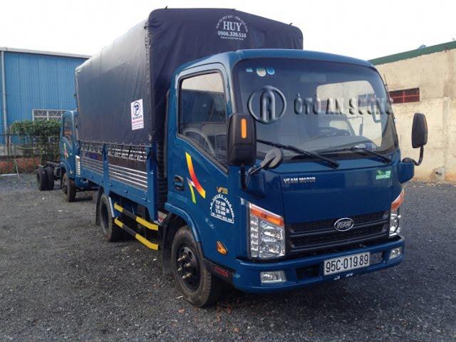 583328266346 Bán trả góp xe tải Veam VT252 1 | Xe tải Veam 2T4 Thùng 4m2