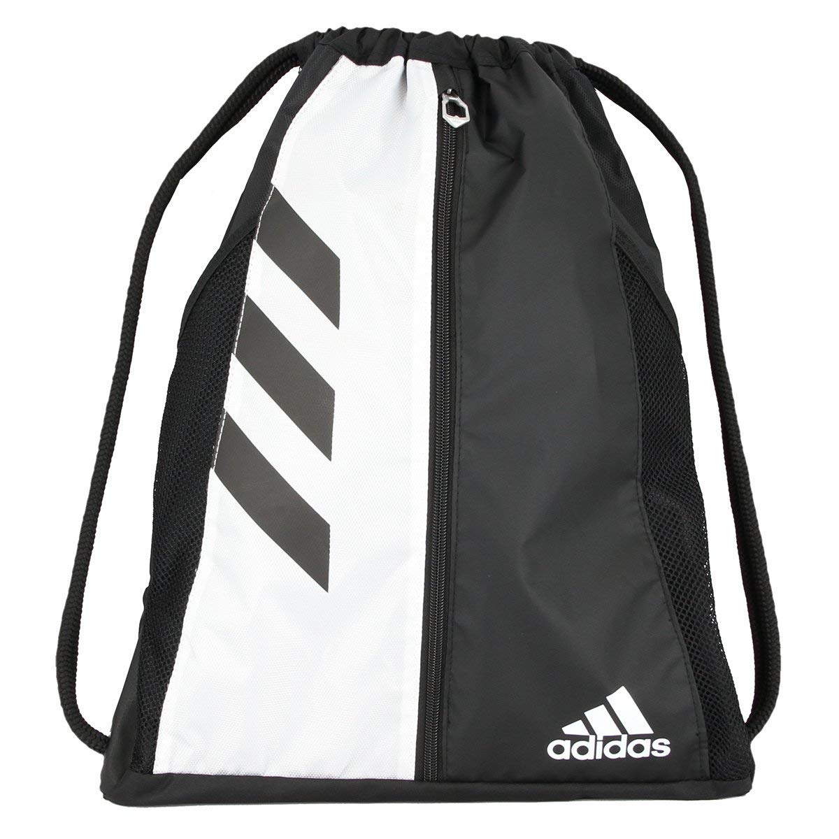 5ed25af5f158 Amazon offers this Adidas Team Issue Sackpack in color Black White on sale  for  7.86 (Reg.  22). This is made of 100% Polyester.