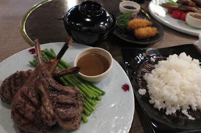 Renga-ya, lamb chops rice