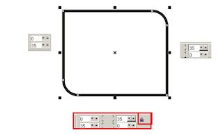 Cara Mudah Membuat Banner Iklan di CorelDRAW Part 2, cara menumpulkan sudut di coreldraw