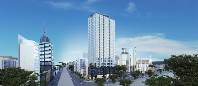 Phối cảnh tổng thể dự án chung cư FLC Star Tower