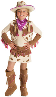 Girls Rhinestone Cowgirl Child Costume