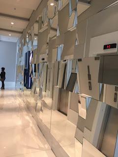 foto de espelho decorativo composição em 3D