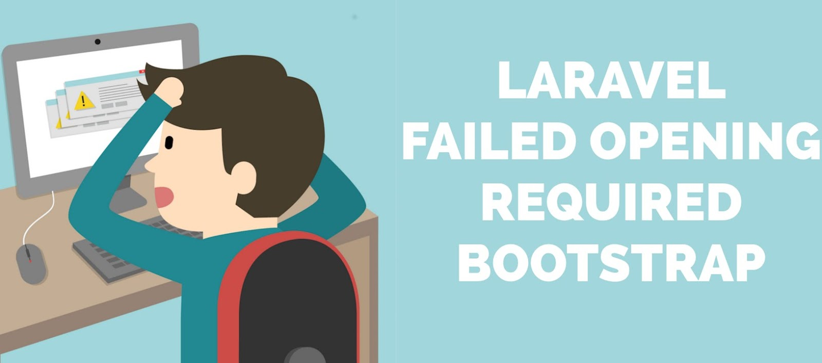 How to fix Laravel 5 Failed opening required bootstrap/  /vendor