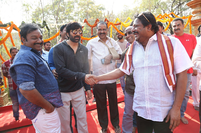 Ravi Teja's Touch Chesi Chudu Movie Opening HD Stills Without Watermark