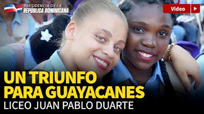 VIDEO: Danilo entrega seis escuelas en San Pedro de Macorís