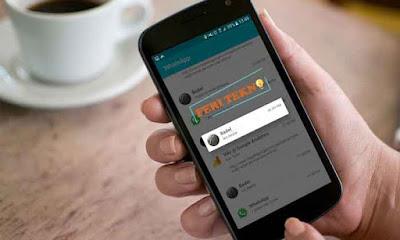 membaca pesan whatsapp yang sudah terhapus - feri tekno