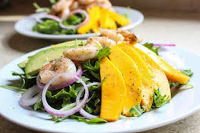 Shrimp Salad Recipes with Ginger and Mango