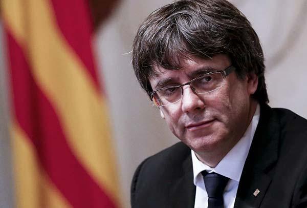 Puigdemont suspende la comparecencia