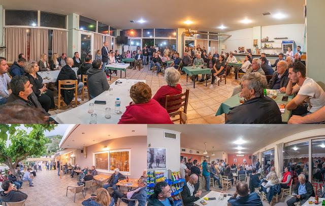 Ενθουσιασμός και σε Γλυκή, Ποταμιά και Χόικα για τον Νικόλα Κάτσιο