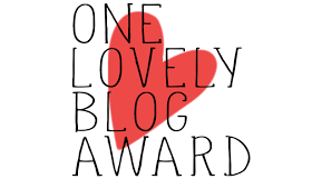 imagen premio one lovely blog award