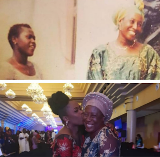 Nollywood Actress Patience Ozokwor Shares 2002/2018 Photo With Uche Jombo