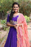 Actress Shraddha Srinath in Purple Chania Choli Cute Pics ~  Exclusive 62.jpg