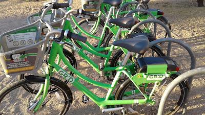 Grid Bike Share Bikes