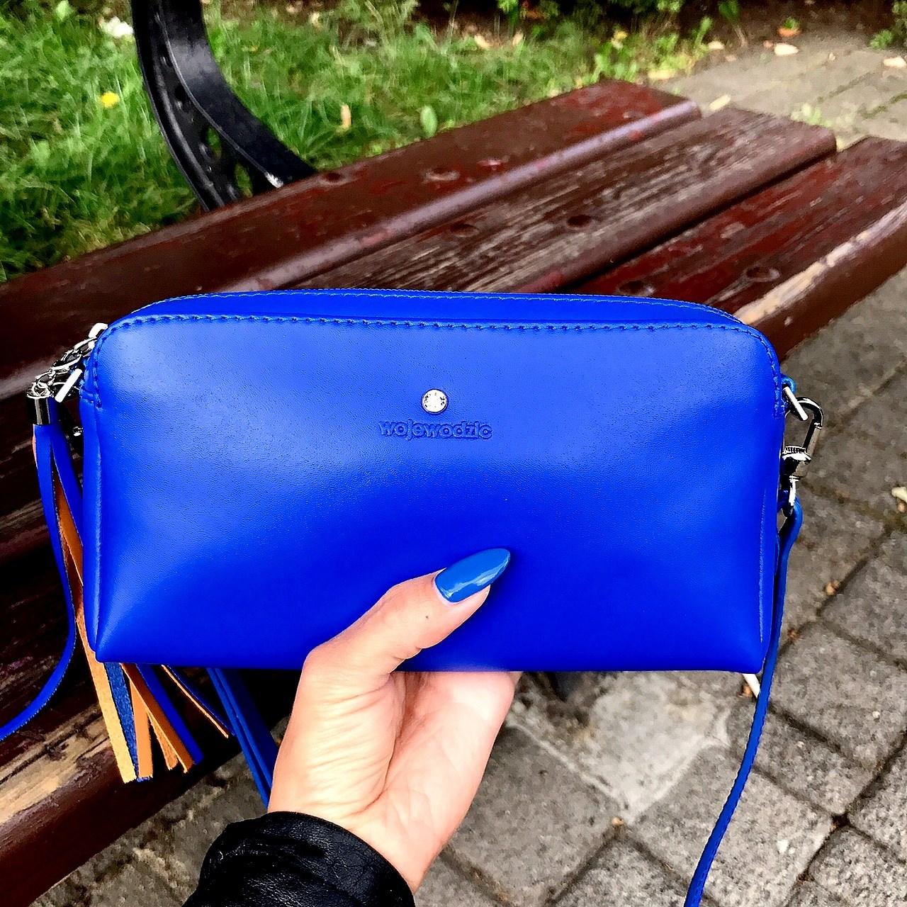 Wojewodzic mała niebieska torebka, wojewodzic torebki blog