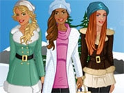 These three best friends are going on winter walk. But before they go they need you to choose some matching outfits for them. Can you do that? Choose from various types of items: tops, bottoms, dresses, hairstyles, jewelry and shoes. You can even change the location too. Have fun putting together the 3 best outfits for the winter walk of these BFF's!