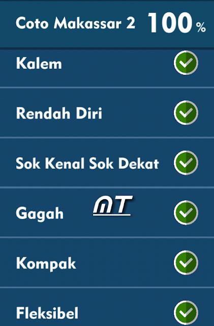 Jawaban Tts Cak Lontong Coto Makassar 2