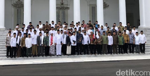 Presiden Jokowi Ulama